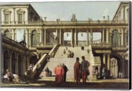 Castle Courtyard, 1762 Fine-Art Print