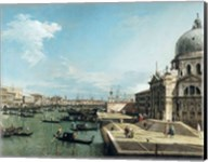 The Entrance to the Grand Canal and the church of Santa Maria della Salute, Venice Fine-Art Print
