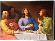 The Supper at Emmaus Fine-Art Print