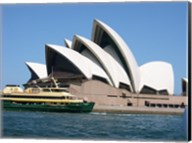 Sydney Opera House with Sydney Ferry Collaroy Fine-Art Print