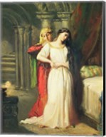 Desdemona Retiring to her Bed, 1849 Fine-Art Print