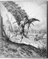 Don Quixote and the Windmills Fine-Art Print