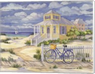 Beach Cruiser Cottage II Fine-Art Print