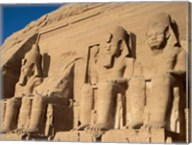 Temple of Ramses II, Abu Simbel, Egypt Fine-Art Print