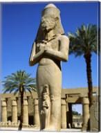 Ramses II Statue, Temples Of Karnak, Luxor, Egypt Fine-Art Print
