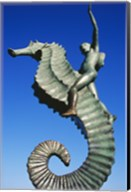 Sea horse statue, Puerto Vallarta, Mexico Fine-Art Print