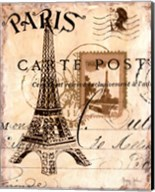 Paris Collage I Fine-Art Print