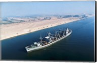 USS Neosho Transits the Suez Canal Fine-Art Print