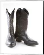 Black Cowboy Boots Fine-Art Print