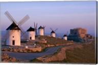 Windmills, La Mancha, Consuegra, Castilla-La Mancha, Spain Fine-Art Print