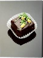 Close-up of a chocolate cake Fine-Art Print