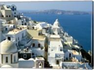 Skyline in Cyclades Islands, Greece Fine-Art Print