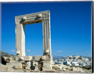 Portara Gateway, Temple of Apollo, Naxos, Cyclades Islands, Greece Fine-Art Print
