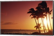 Kauai Hawaii USA Beach at Sunset Fine-Art Print