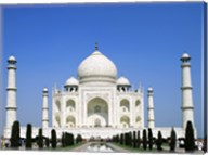 Facade of the Taj Mahal, Agra, Uttar Pradesh, India Fine-Art Print