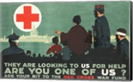 Red Cross War Fund Fine-Art Print