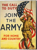 The Call to Duty for Home and Country Fine-Art Print