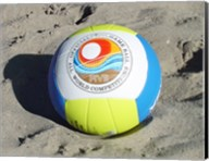 Beach Volleyball Ball Fine-Art Print