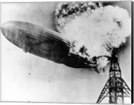 Hindenburg Burning Fine-Art Print