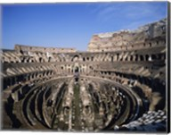 High angle view of a coliseum, Colosseum, Rome, Italy Fine-Art Print