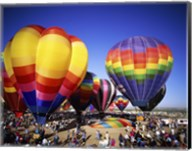 Hot air balloons at the Albuquerque International Balloon Fiesta, Albuquerque, New Mexico, USA Fine-Art Print