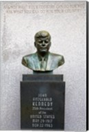 JFK Bust by Evangelos Frudakis at Kennedy Plaza, Boardwalk, Atlantic City, New Jersey, USA Fine-Art Print