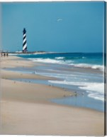 Cape Hatteras Lighthouse Cape Hatteras National Seashore North Carolina USA Prior to 1999 Relocation Fine-Art Print
