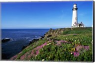 View of the Pigeon Point Lighthouse, Pigeon Point Light Station State Historic Park, California, USA Fine-Art Print