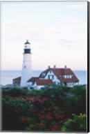 Portland Head Lighthouse Cape And Field Elizabeth Maine USA Fine-Art Print