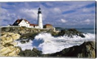 Portland Head Lighthouse, Cape Elizabeth, Maine, USA Fine-Art Print