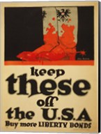 Keep These Off the USA Buy More Liberty Bonds Fine-Art Print