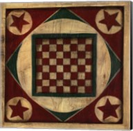 Small Antique Checkers Fine-Art Print