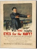 Eyes for the Navy Fine-Art Print