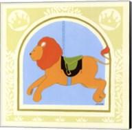 Lion Carousel Fine-Art Print