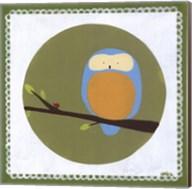 Owl Cameo IV Fine-Art Print