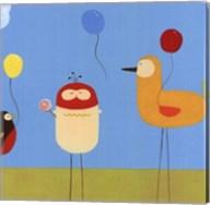 Sunny Day Birds II Fine-Art Print