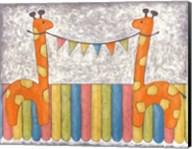 Carnival Giraffes Fine-Art Print