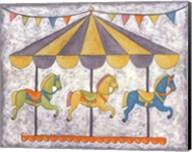 Carnival Carousel Fine-Art Print