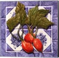 Radishes Tile Fine-Art Print