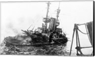 HMS Irresistible Abandoned March 18,1915 Fine-Art Print