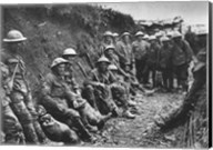 Royal Irish Rifles Ration Party Somme July 1916 Fine-Art Print