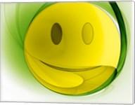 Happy Face Orb Fine-Art Print
