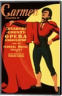 Carmen Matador Playbill 1939 Fine-Art Print