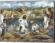 Baptism at River's Edge Fine-Art Print