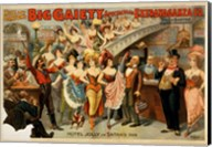 Big Gaiety's Spectacular Extravaganza Co. Fine-Art Print