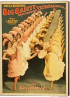 Big Gaiety's Spectacular Extravaganza - The Gaiety Dancers Fine-Art Print