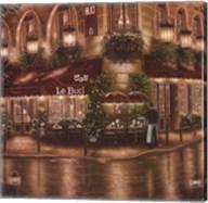 Cafe Le Buci Fine-Art Print