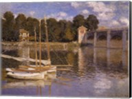 The Bridge at Argenteuil, c.1874 Fine-Art Print