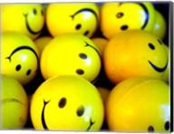 Smiley Face Balls Fine-Art Print
