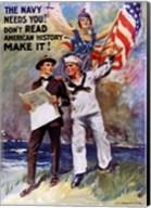 Don't Read American, History Make It! Fine-Art Print